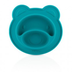 Assiette à compartiments Sure Grip™ ourson Miracle Mat™