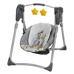 Balançoire Graco Slim Spaces Motif ABC