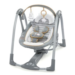 Balançoire Swing 'n Go Portable Swing Ingenuity Boutique Collection Motif Bella Teddy